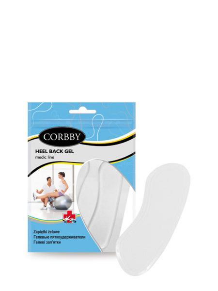 Corbby стельки пяткоудерж heel back gel