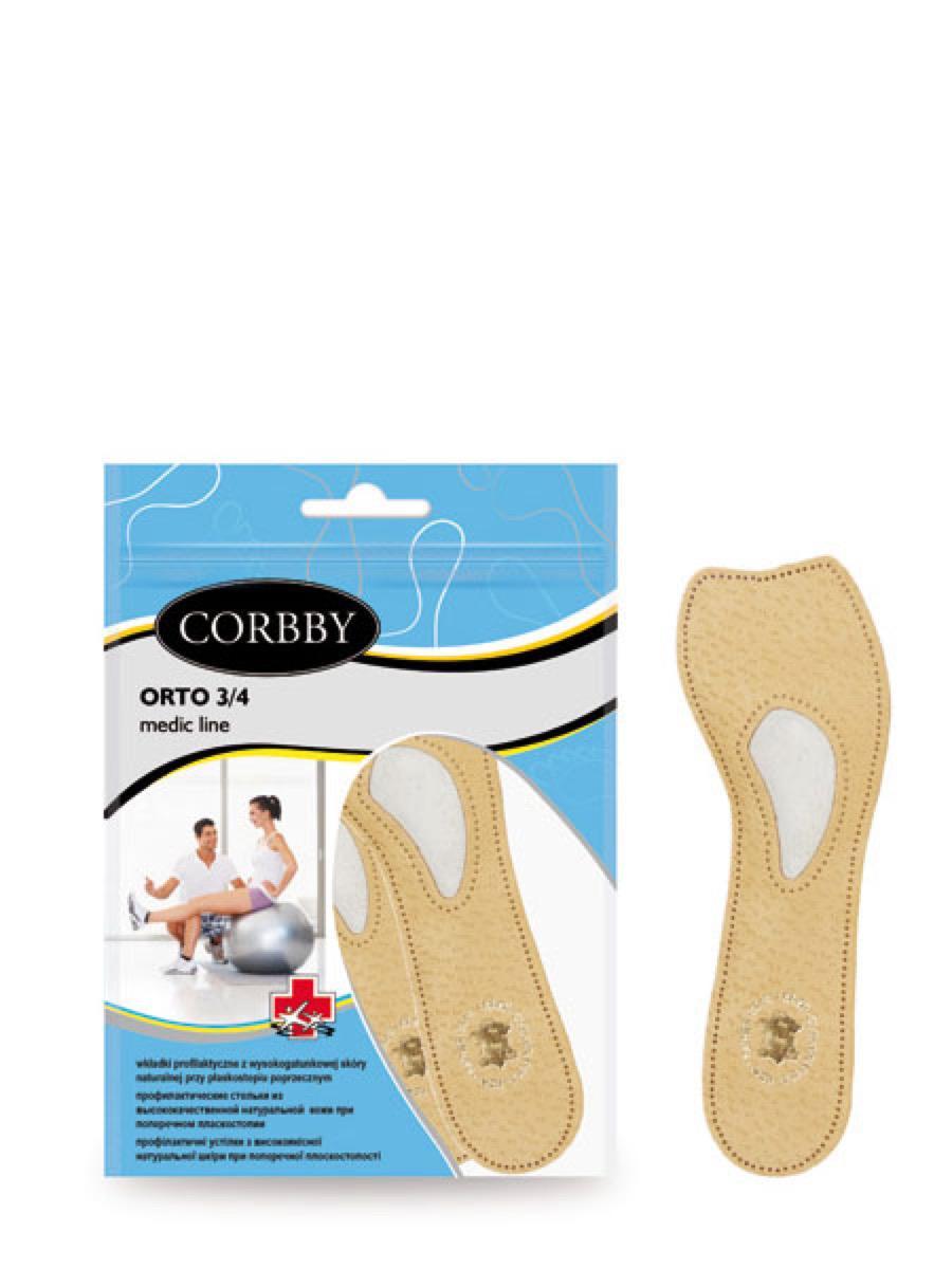Corbby стельки стельки 3/4 orto 41/42 (xl)