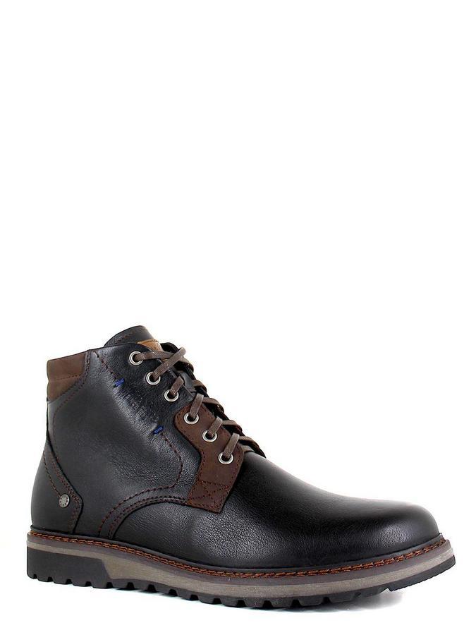 Nine Lines ботинки высокие 7230-9 чёрный/коричневый