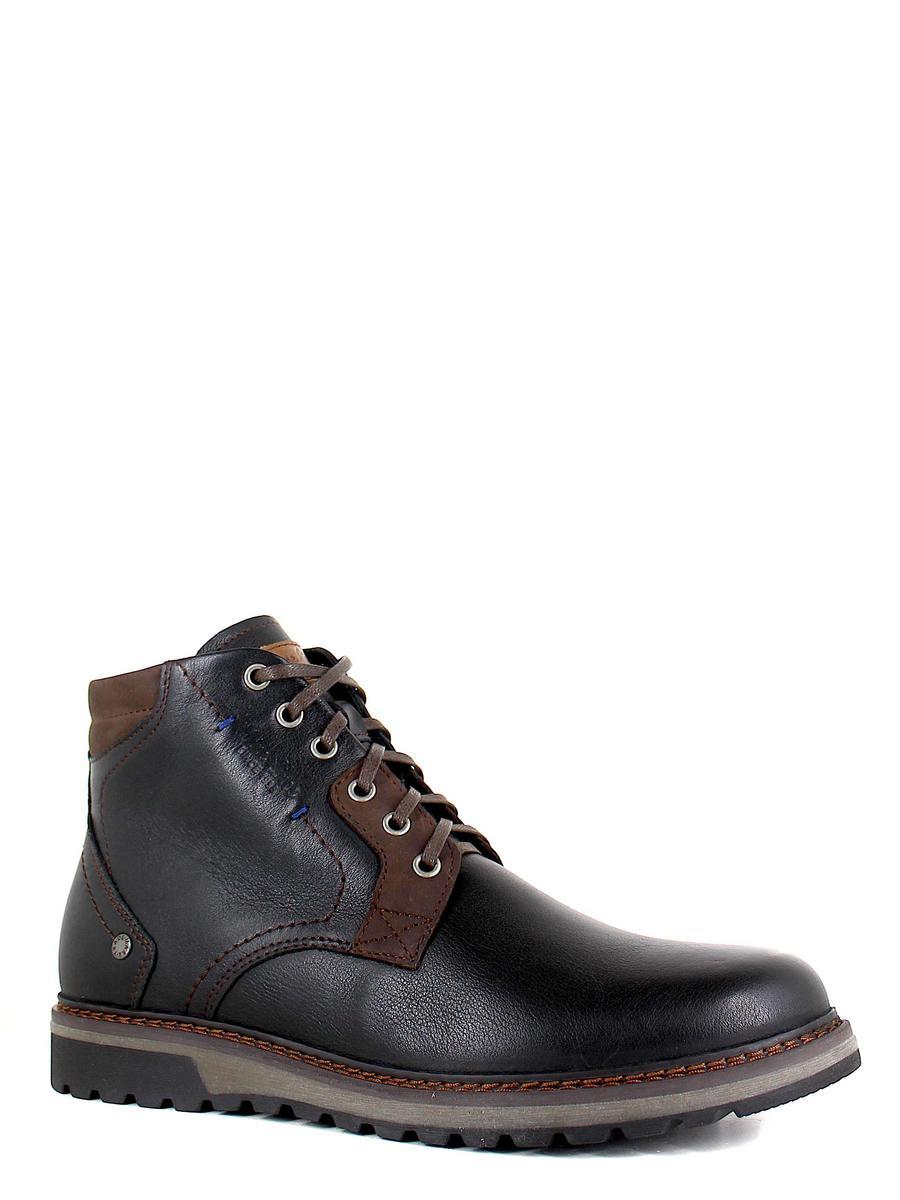 Nine Lines ботинки высокие 7230-9 чёрный/коричневый (xl)