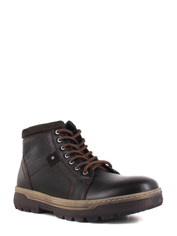 Enrico ботинки высокие 2121-281 цвет124 корич