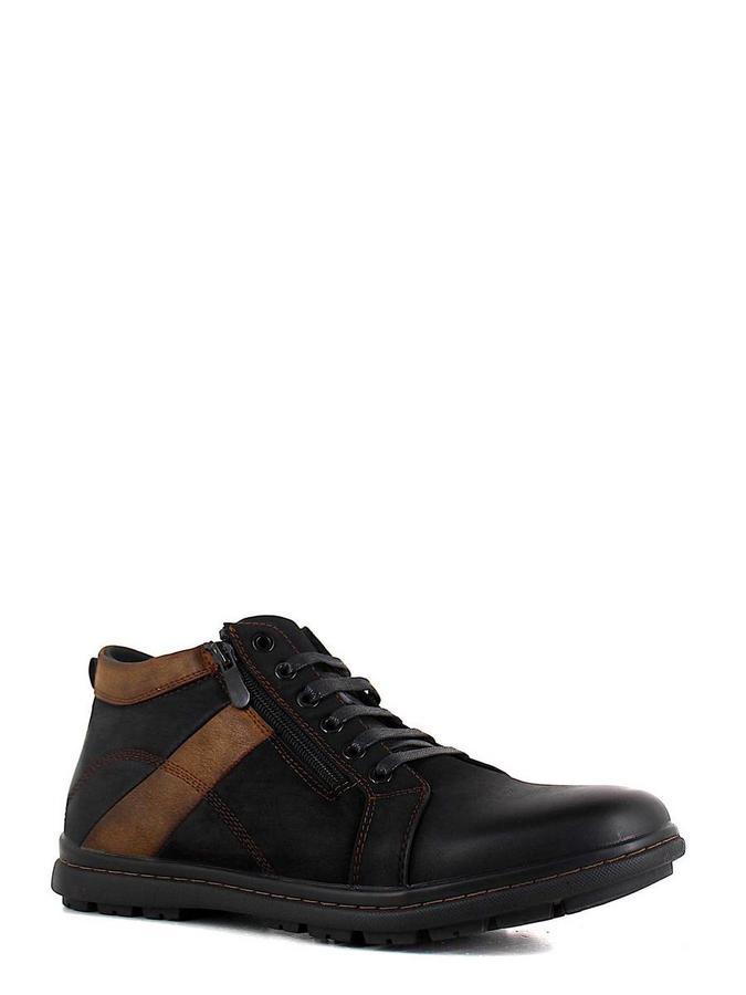 Marko ботинки высокие 822086 чёрный/коричневый