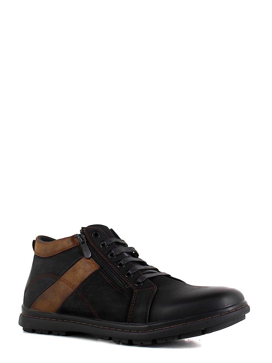 Marko ботинки высокие 822086 чёрный/коричневый (xl)