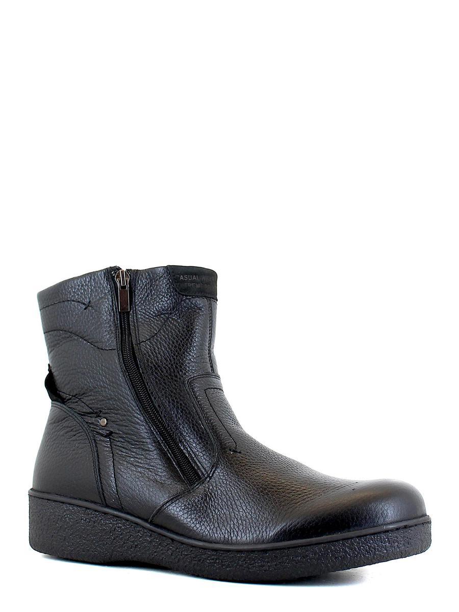Enrico ботинки высокие 201-300 цвет 883 чёрн шер