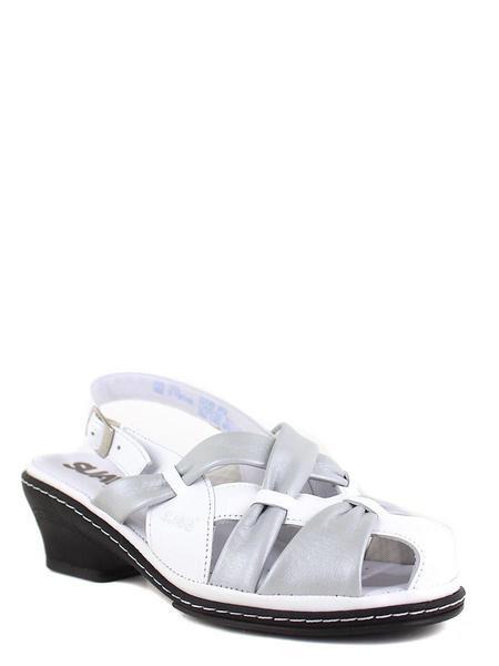 Suave босоножки cancun 1509t бел/серый