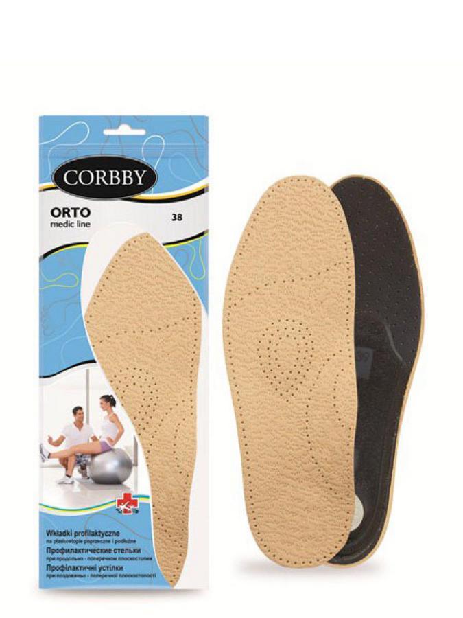 Corbby стельки стельки orto 38