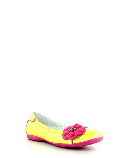 Kakadu туфли 4352 f желт/розовый