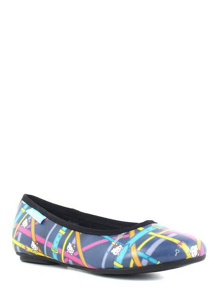 Hello Kitty туфли 5184c син/цветной