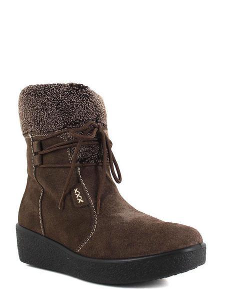 Алми ботинки высокие 6170-90218 сер/коричневый
