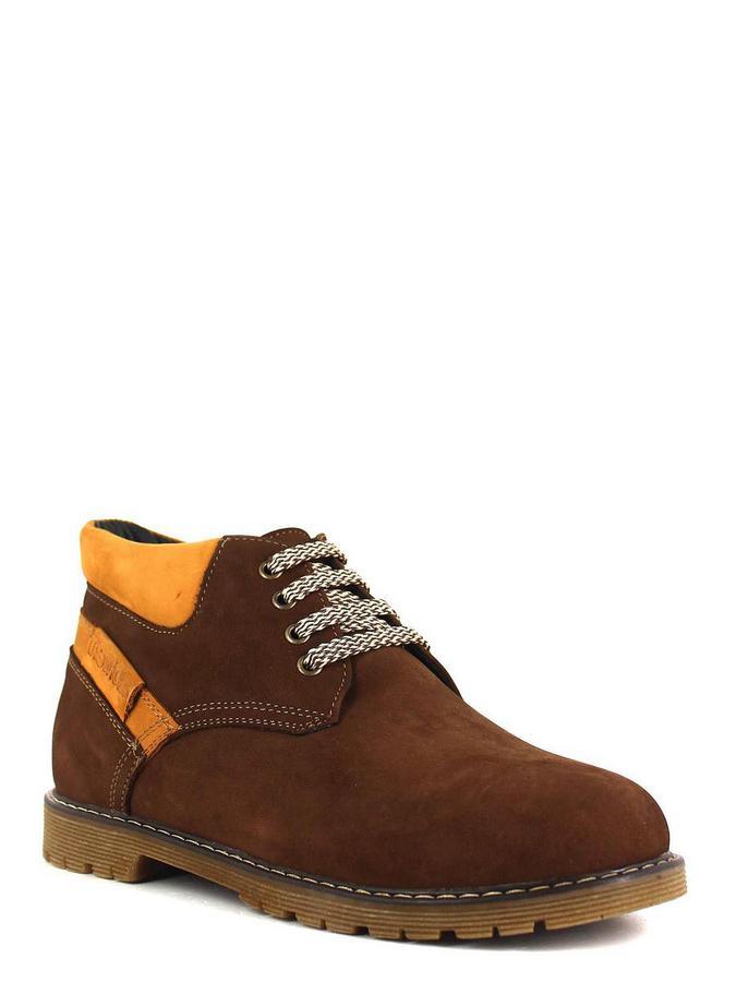 Sairus ботинки высокие 24-10145 коричневый