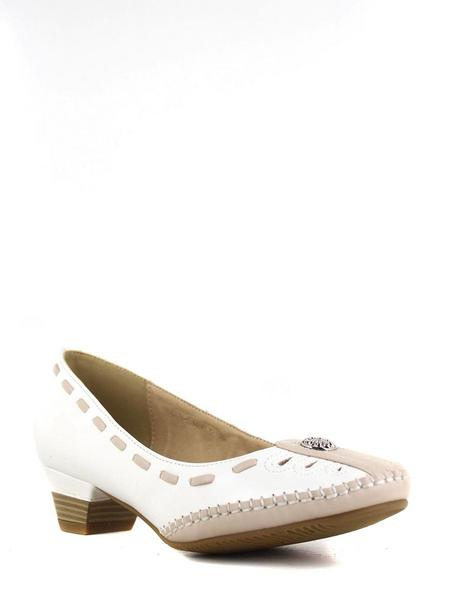 Тофа туфли 15536-5 бел/бежевый
