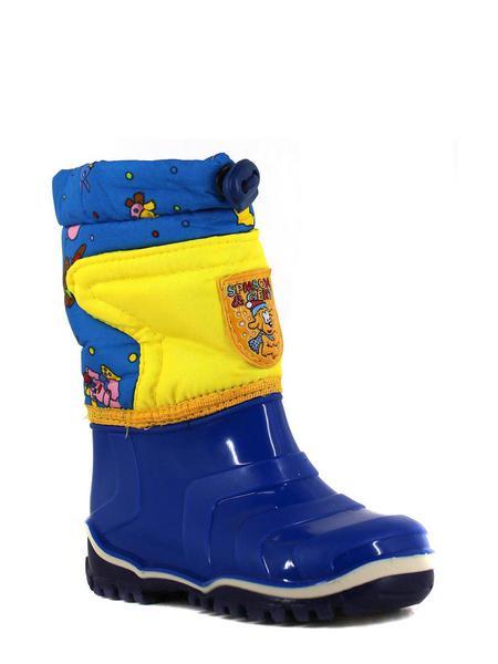 Дюна резиновая обувь 220 сине-жёлтый