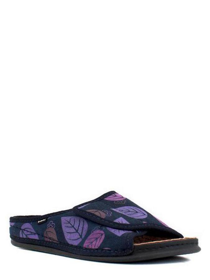 Inblu тапочки dh-6q синий/фиолетовый