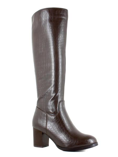 Makfly сапоги 35-276-01d коричневый