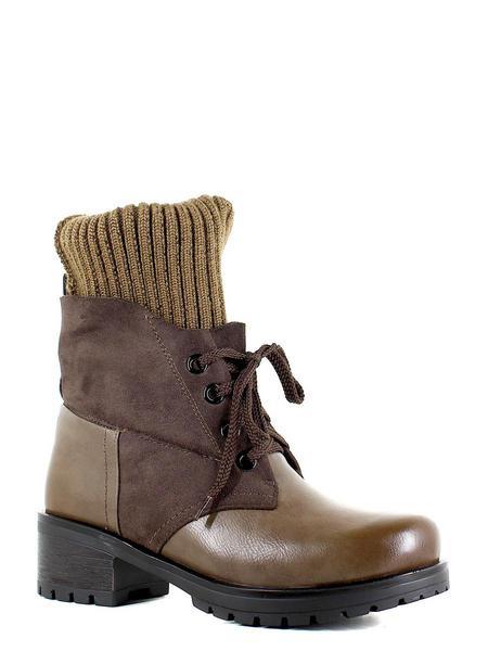 Makfly ботинки высокие 35-301-04d коричневый