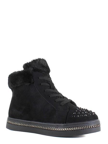 Makfly ботинки высокие 06-30-03a чёрный