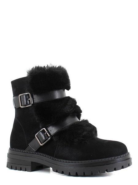 Makfly ботинки высокие 06-33-01a черный