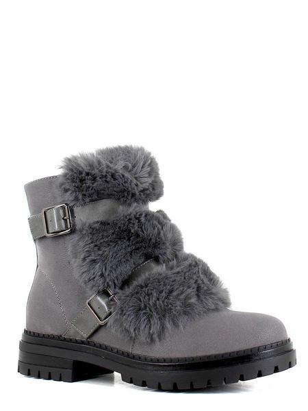 Makfly ботинки высокие 06-33-01f серый