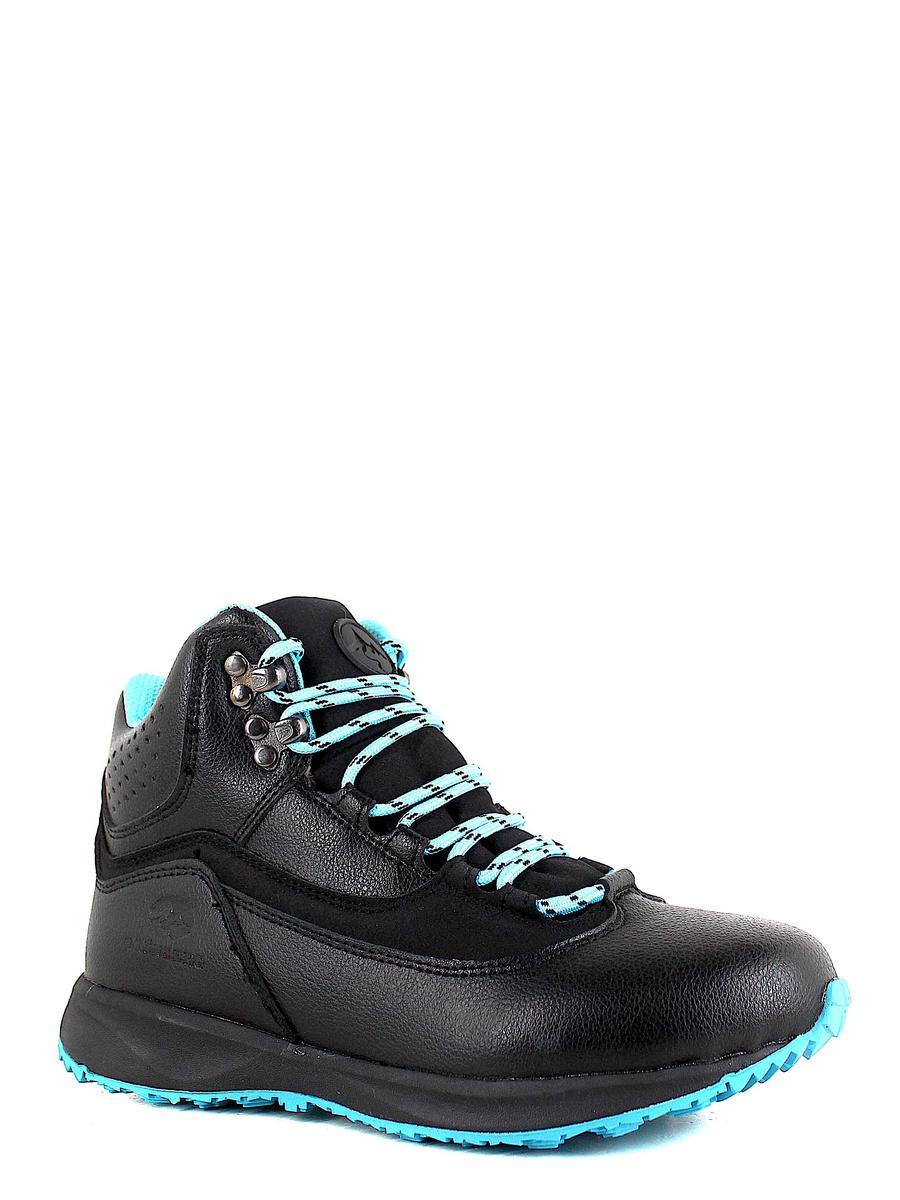 Grunberg ботинки высокие 188584/06-01 чёрный/голуб