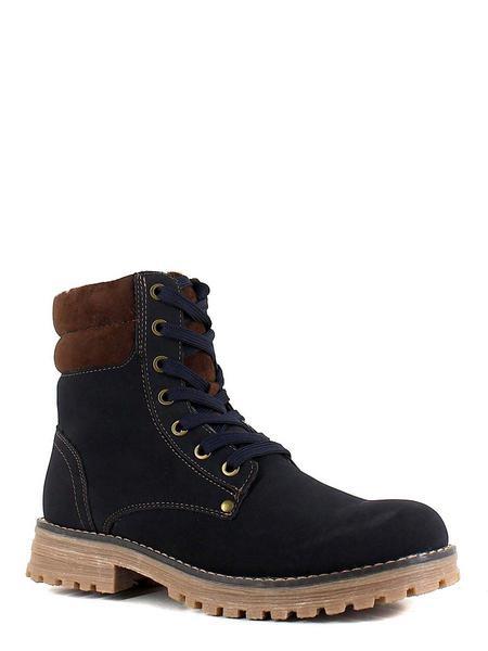 Keddo ботинки высокие 588127/20-07 т.синий/кор
