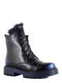 Betsy ботинки высокие 988719/01-01 чёрный/синий (small 1)