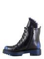 Betsy ботинки высокие 988719/01-01 чёрный/синий (small 3)