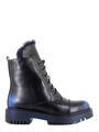 Betsy ботинки высокие 988719/01-01 чёрный/синий (small 5)