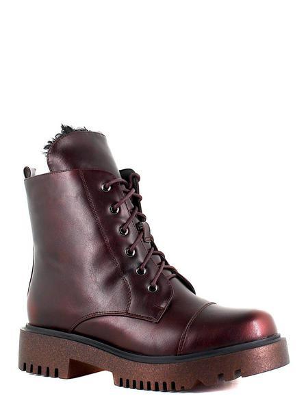 Betsy ботинки высокие 988719/01-02 чёрный/красн