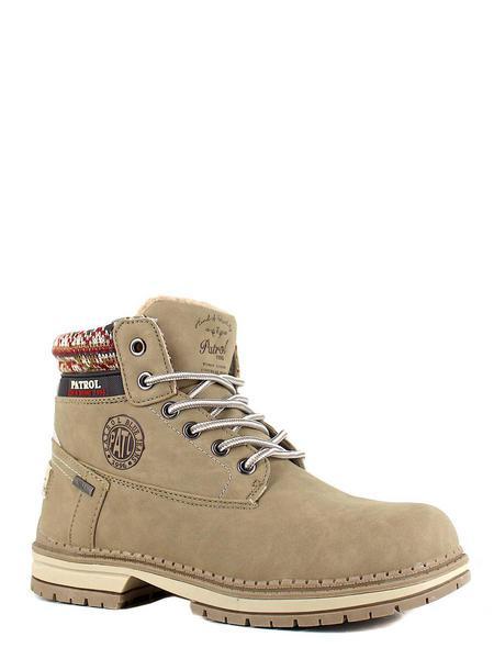 Patrol ботинки высокие 263-122im-19w-04-4 бежевы