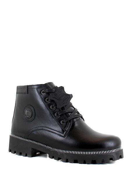 Hybrid ботинки высокие d1148-1 кожа чёрный