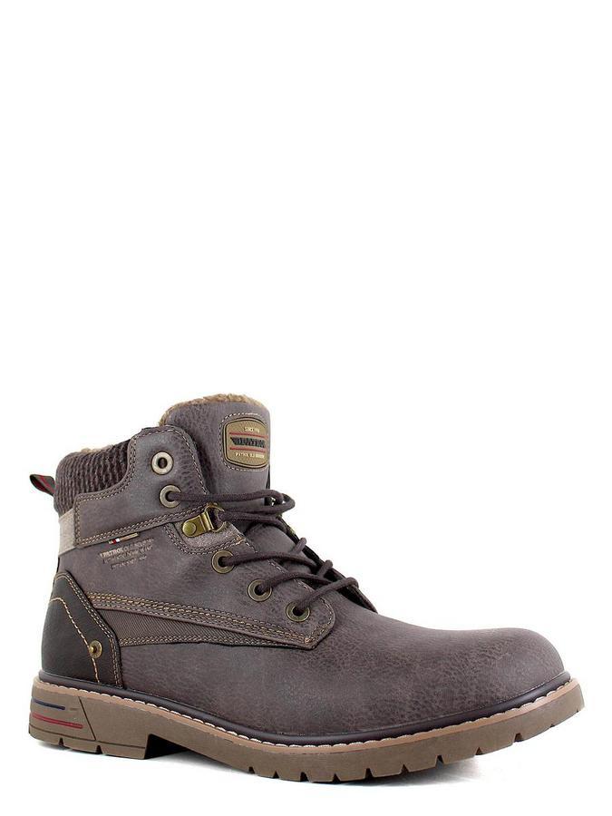 Patrol ботинки высокие 461-148im-19w-01-2 коричн