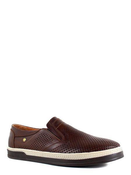 Valser туфли 601-483 коричневый