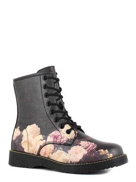 Keddo ботинки высокие 897133/01-06 чёрный