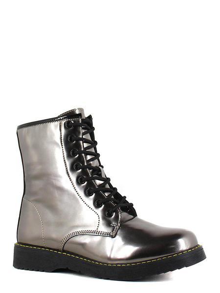 Keddo ботинки высокие 897133/01-03 серебряный