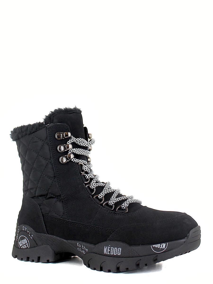 Keddo ботинки высокие 898285/02-01 чёрный (xl)