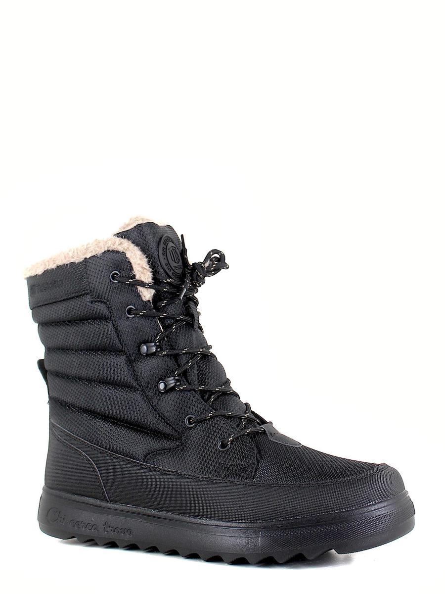 Tesoro ботинки высокие 198016/10-01 чёрный (xl)