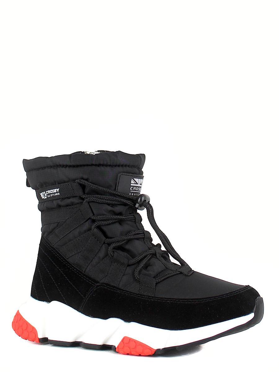 Crosby ботинки 498183/01-01 чёрный (xl)