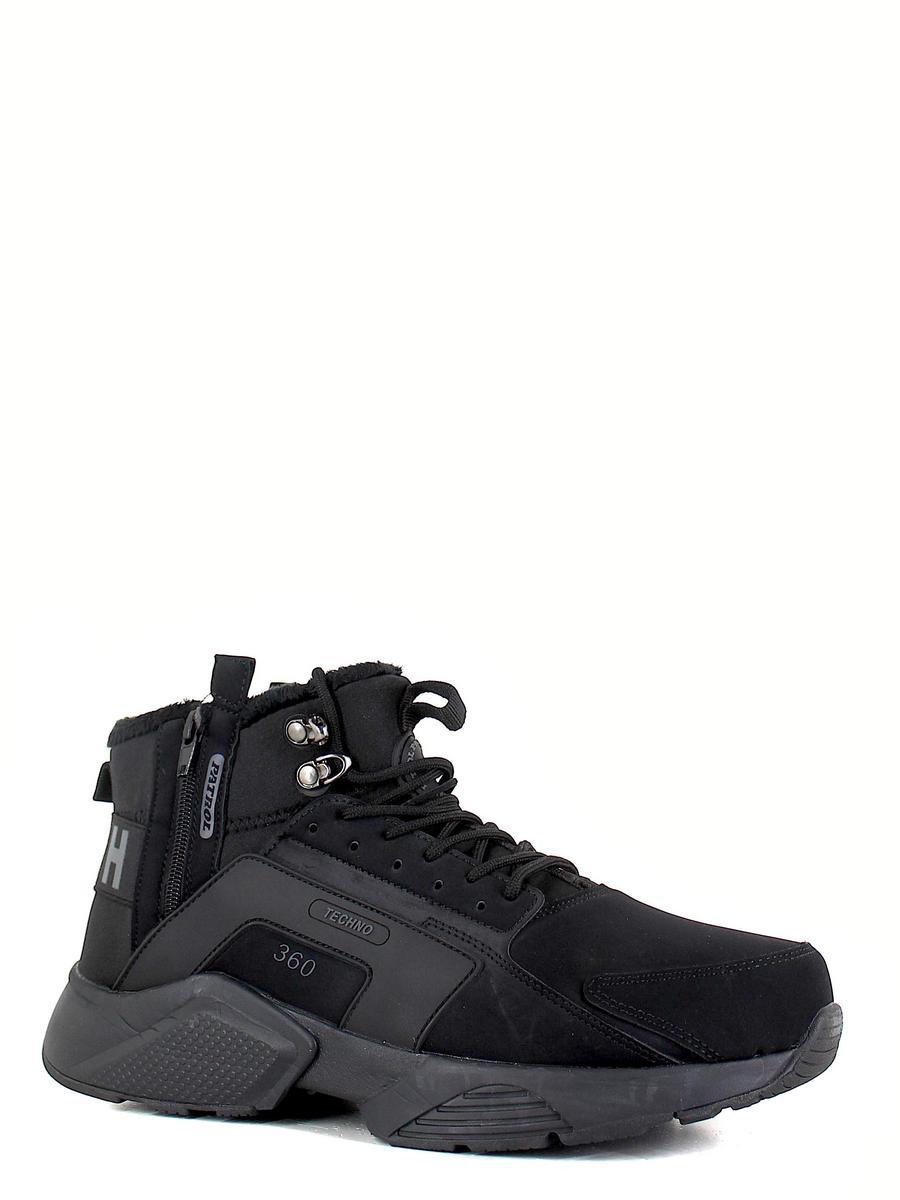 Patrol ботинки 473-060b-20w-01-1 чёрный (xl)
