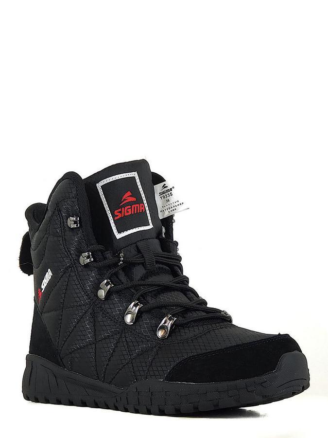 SIGMA ботинки m19335g-2-6 чёрный