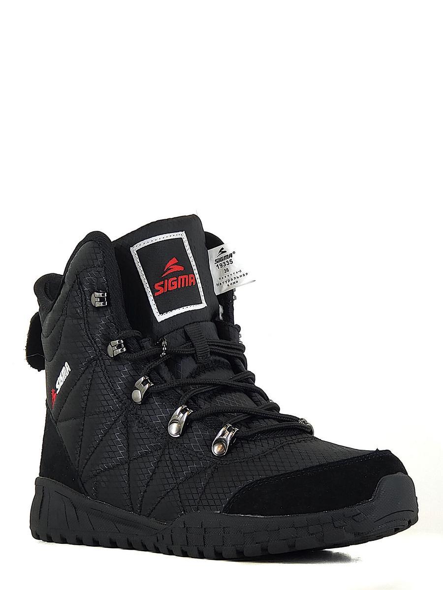 SIGMA ботинки m19335g-2-6 чёрный (xl)
