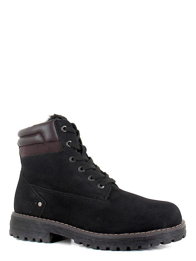 Keddo ботинки высокие 898127/06-02 чёрный