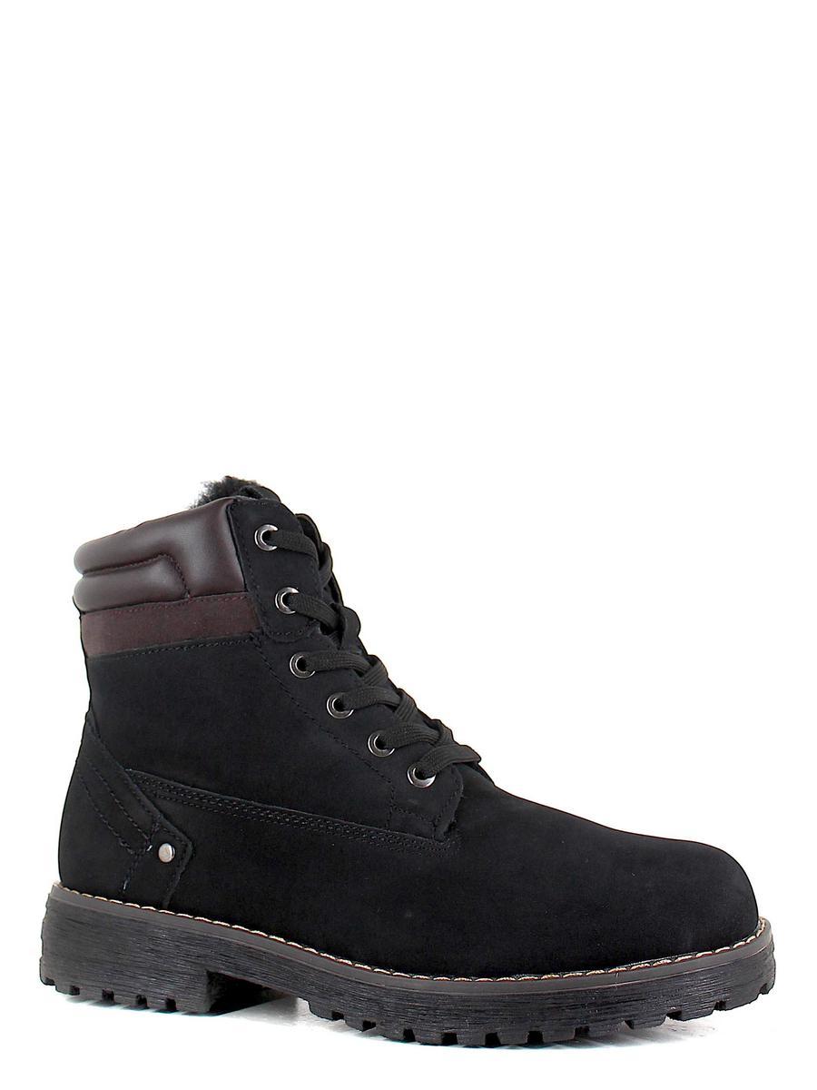 Keddo ботинки высокие 898127/06-02 чёрный (xl)