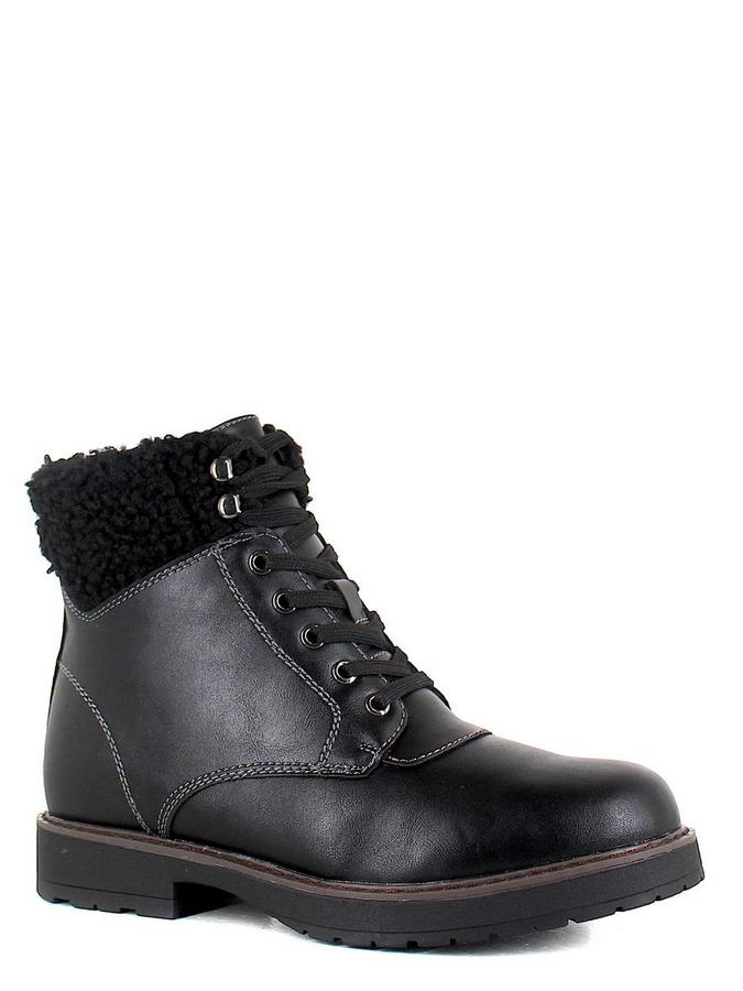 Keddo ботинки высокие 588181/08-03 чёрный