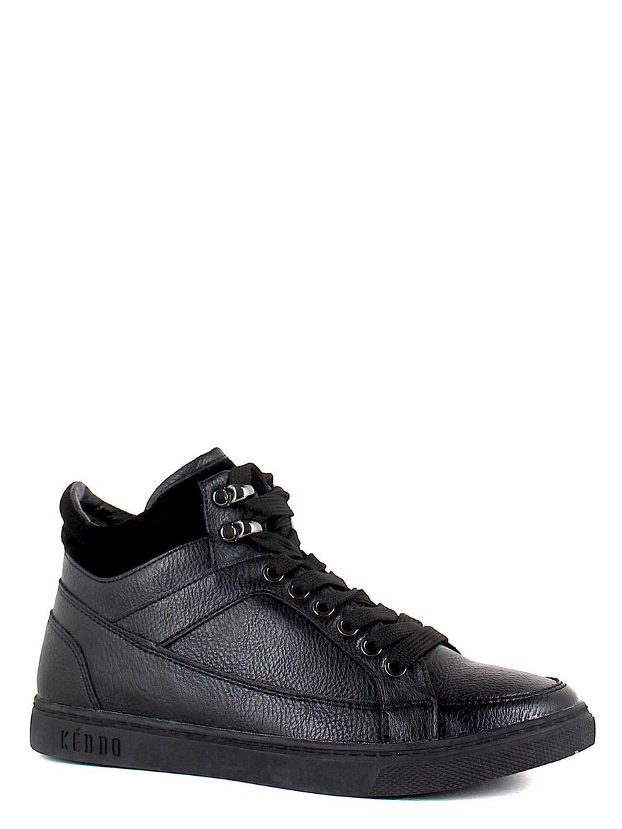 Keddo ботинки 588300/53-01 чёрный