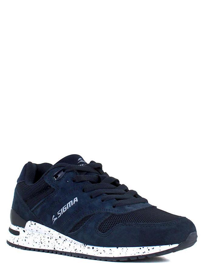 SIGMA кроссовки p18761n-2m т.синий