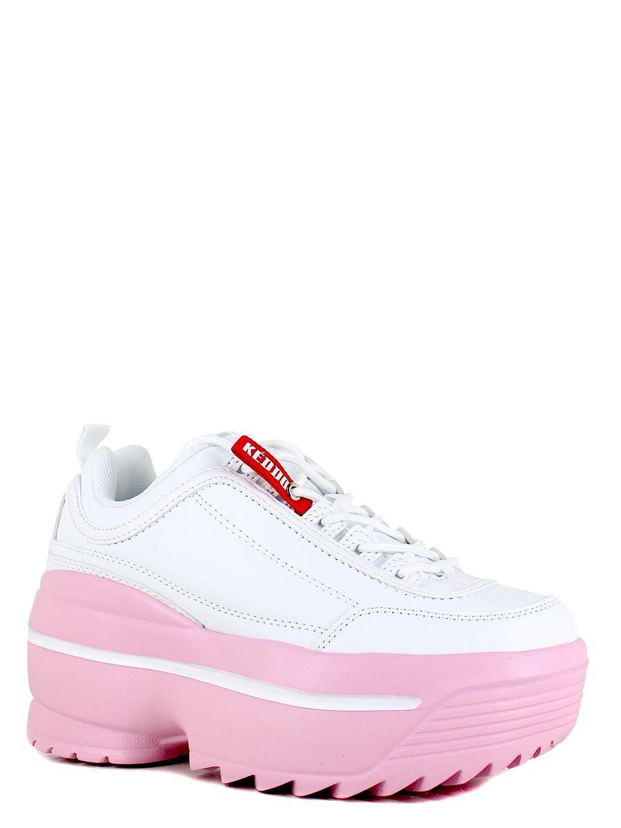Keddo кроссовки 807751/01-02 белый/розовы