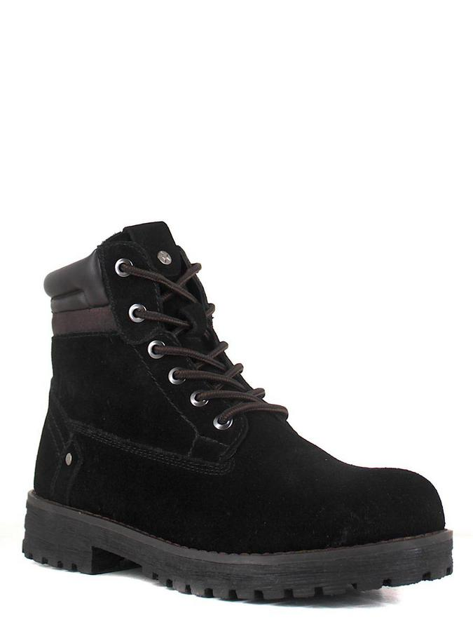Keddo ботинки 898127/06-15 чёрный/корич