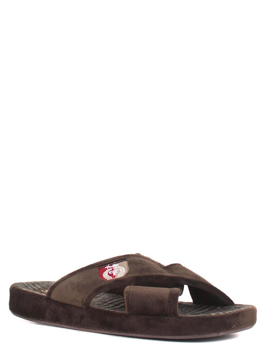 Forio тапочки 124-7005 коричневый