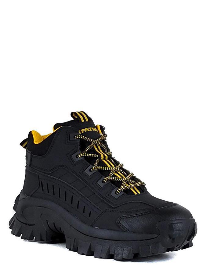 Patrol ботинки 486-319f-21w-01-1 чёрный