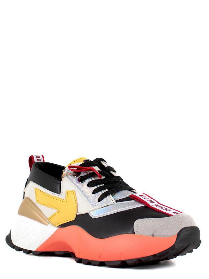 Keddo кроссовки 897781/02-02 чёрный/жёлты